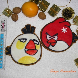 Angry birds 1 (2 db)
